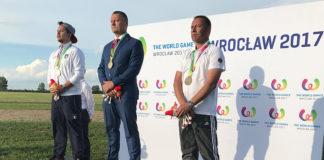 Auf dem Treppchen bei den World Games: 3.Platz im Segelkunstflug - Eugen Schaal.